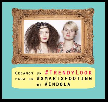Descubre el look que Albania Navarro creó para el Smart Shooting de Hervas & Archer by Indola